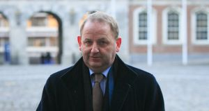 Maurice McCabe at the Disclosures tribunal in Dublin Castle last week. Photograph: Gareth Chaney/Collins
