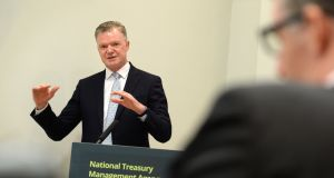 Conor O'Kelly, chief executive, the National Treasury Management Agency .