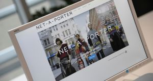 Luxury goods maker Richemont on Monday offered up to €2.8 billion to take full control of Yoox Net-A-Porter.  Photograph: Toby Melville/Reuters