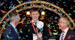 Shane Curran was named BT Young Scientist of the Year 2017 for his ideas that now make up qCrypt.