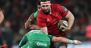 Munster prop James Cronin has been added to the Ireland squad for the upcoming Six Nations campaign. Photograph: Billy Stickland/Inpho