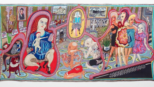 The Adoration of the Cage Fighters by Grayson Perry, from The Vanity of Small Differences