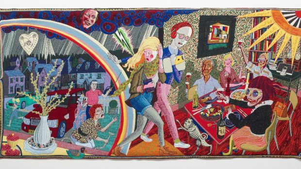 The Expulsion from Number 8 Eden Close by Grayson Perry, from The Vanity of Small Differences