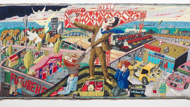 The Agony in the Car Park by Grayson Perry, from The Vanity of Small Differences