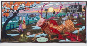 The Upper Class at Bay by Grayson Perry, from The Vanity of Small Differences