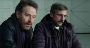 Bryan Cranston and Steve Carell in 'Last Flag Flying'