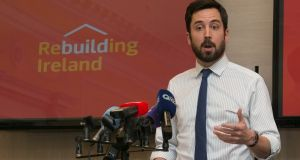 Eoghan Murphy, Minister for Housing: his department has developed proposals for a local authority home-loan scheme. Photograph: Gareth Chaney Collins