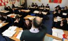 There has been a drop in the number of students applying for postgraduate courses for second-level teaching. File photograph: David Davies/PA Wire