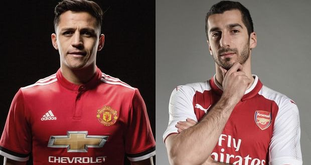 c9caf5a7b Alexis Sànchez has completed his move to Manchester United with Henrikh  Mkhitaryan joining Arsenal. Photograph