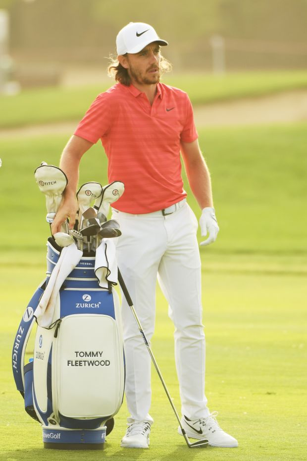 Tommy Fleetwood was one of the many players to put the new Taylormade M3 driver into use this year. Photo: Getty Images