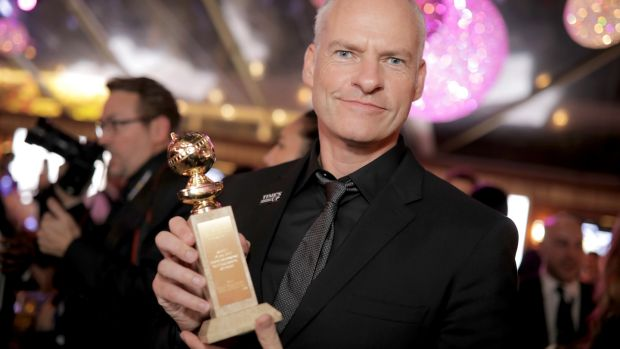 Filmmaker Martin McDonagh, whose film 'Three Billboards Outside Ebbing, Missouri' was showered with nominations. Photograph: Greg Doherty/Getty Images