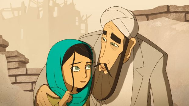 Nora Twomey's 'The Breadwinner', which follows an Afghan girl who must dress as a boy to support her family, is nominated for Best Animated Feature