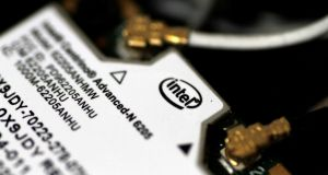 If Intel's business is significantly hampered by the chip flaw debacle, there may be unease in Ireland, where it employs about 5,000 people at its sites in Leixlip and Shannon. Photograph: Thomas White/Reuters