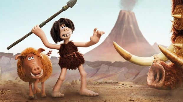 Fantastic beasts: Hognob and Dug (Eddie Redmayne) in Early Man