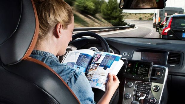 Volvo is arguably further ahead with autonomous car development than many, but its plans to have Swedish families test its autonomous cars on public roads has hit a snag; the cars are not ready. Photograph: Volvo