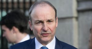 "Fianna Fáil leader Micheál Martin. ""Last week's speech suggested a world of nuance, context, realism, personal grief and – above all – empathy, had accompanied him on this particular journey."" Photograph: Gareth Chaney/Collins"