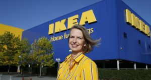 Head of Ikea in Ireland Claudia Marshall: she said  the performance of its  Ballymun store could be compared to those  of New York or Moscow. Photograph: Nick Bradshaw