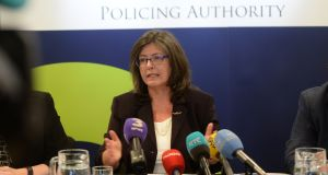 "Chairwoman of the Policing Authority Josephine Feehily: said Government had created a ""crowded, confused and inefficient oversight regime"" in which holding the Garda to account was difficult. Photograph: Alan Betson"