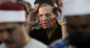 Former  Egyptian armed forces chief of staff Sami Anan last week said that he planned to contest the March presidential poll. File photograph: Amr Nabil/AP Photo