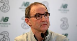Martin O'Neill has signed a new contract and will remain as republic of Ireland manager until 2020. Photograph:  Niall Carson/PA Wire
