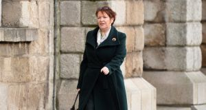 Former Garda commissioner Nóirín O'Sullivan at the Disclosures Tribunal  in Dublin Castle on Tuesday. Photograph: Dara Mac Dónaill