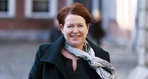 Former Garda commissioner Noirin O'Sullivan in Dublin Castle. Photograph: Stephen Collins/Collins Photos