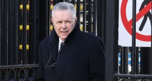 Seamus McKenna  pictured leaving the Four Courts on Tuesday  after Circuit Civil Court action. Photograph: Collins Courts