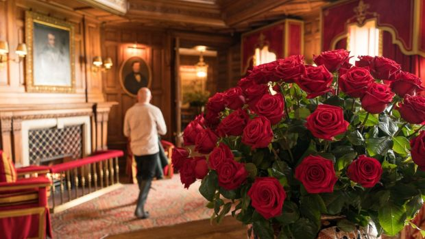 Ashford Castle: the hotel is full of breathtaking touches. Photograph: Keith Heneghan/Phocus