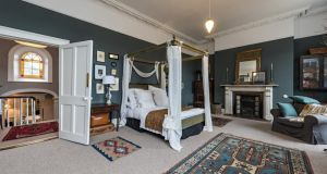 Main bedroom of 60 Leinster Road is its grandest room