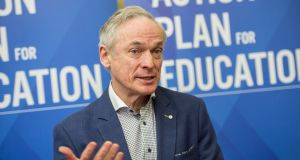 "Minister for Education Richard Bruton: ""Springboard+ is a key part of the Government's strategy to ensure we are planning for the future skills needs of our economy."" Photograph: Brenda Fitzsimons"