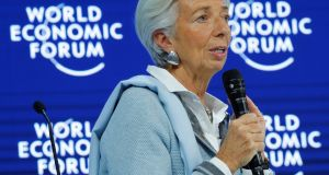 Mining cryptocurrencies is consuming as much electricity as a G20 economy, IMF  managing director Christine Lagarde has said in Davos. Photograph: Denis Balibouse/Reuters