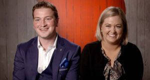 Eoin and Tara: a rare heart-tingling story  from First Dates Ireland. Photograph: RTÉ