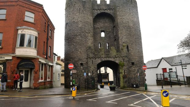 St Laurence's Gate, Drogheda, Co Louth. Photograph: Dara Mac Dónaill