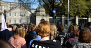 A Repeal march:  Voting intentions will also change because history has shown us that voting intentions change during referendum campaigns. Photograph:  Dara Mac Donaill / The Irish Times