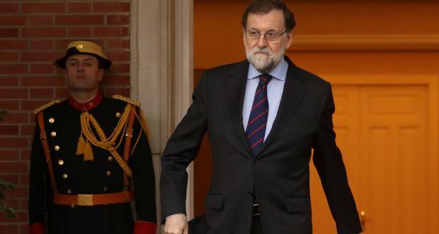 Spain's prime minister Mariano Rajoy: under pressure. Photograph: Sergio Perez/Reuters