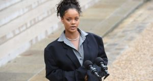 Dana Kavanagh is suing for damages and loss of earnings arising out of what she says is a false and malicious email, sent to her by Rihanna, containing what she says are untrue references to her partner Geoffrey Keating. Photograph:  Christophe Archambault/AFP/Getty Images