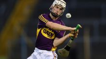 Cathal Dunbar's sharp eye for goal was evident in his underage years with Wexford. Photograph: Cathal Noonan/Inpho