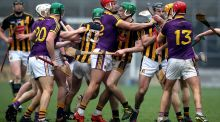'I was at the Walsh Cup game between Kilkenny and Wexford last Saturday – the crowd was going spare. The blood was up in everyone. Games just take on a life of their own.' Photograph: Ryan Byrne/Inpho