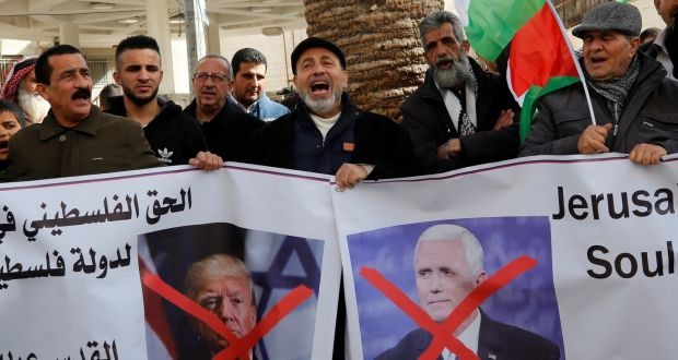 Palestinians erupt over Trump aid threat without Israel talks