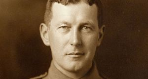 "Canadian poet John McCrae: ""In Flanders fields the poppies blow/Between the crosses, row on row"""