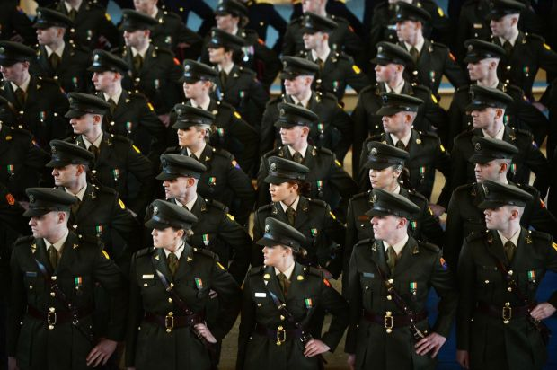 93rd Cadet Class Commissioning. - The Irish Times