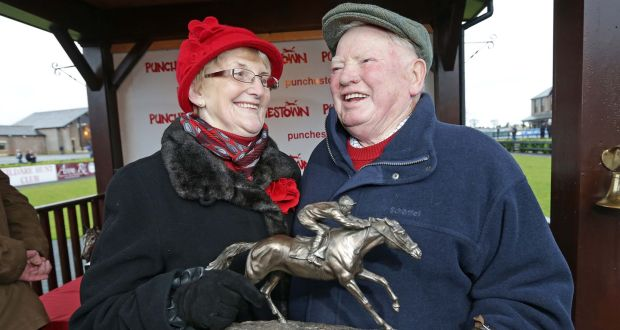 19ef3623d59 Trainer Peter Casey with his wife Junie pictured at Punchestown in 2012.  Photograph  Morgan