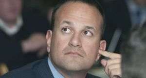Taoiseach  Leo Varadkar chose to outline his position on the abortion campaign to an international audience. Photograph: Dave Meehan/The Irish Times