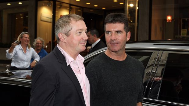 Louis Walsh and Simon Cowell in London in 2008. Photograph: Dan Kitwood/Getty