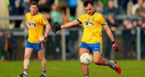 Donie Smith's 77th minute penalty earned Roscommon a draw against Meath. Photograph: James Crombie/Inpho