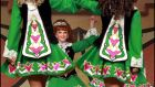 Irish dancers at the 41st World Irish Dancing Championships in Dublin. Photograph: Brenda Fitzsimons