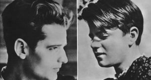 Hans Scholl and his sister Sophie circa 1940.  Both were members of the non-violent White Rose resistance group against the Nazis. After their arrest for distributing anti-war leaflets at the University of Munich, they were convicted of high treason and executed by guillotine. Photograph:  Authenticated News/Archive Photos/Getty Images