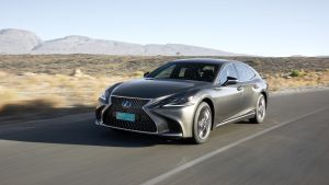 Smooth ride: the Lexus LS doesn't drive so much as waft along on gilded wings
