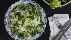 Onion and Parsley Salad. Photograph: Emma Jervis