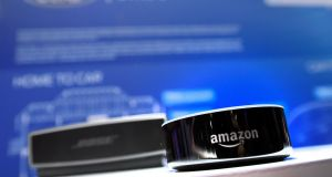 Radio in the smart home: Amazon Echo is shipping to Ireland. Photograph: David Becker/Getty Images